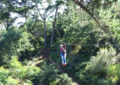 Ziplines of Acrobranch Garden Route near Wilderness